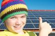 Daumen hoch zur Solarenergie