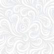 White Vector Swirl Background with shadow - 77940564