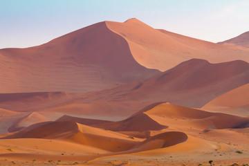 Vast sand dunes of Sossusvlei
