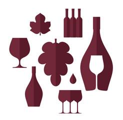Wine. Set