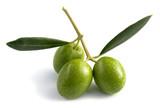three raw olives
