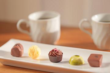 五つのチョコレート