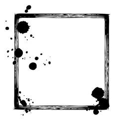 grunge black hand drawn frame 8