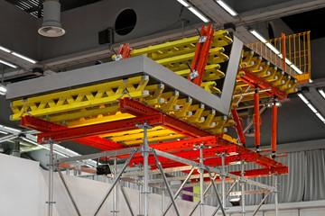 Formwork scaffolding