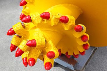 Mining drill head