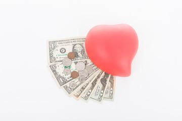 Dollar und Valentins Herz