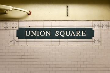 Union Square Station, New York