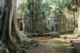 The ruins of Ta Prom Temple, Siem Reap, Cambodia.