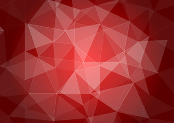 Abstract background with light red shapes