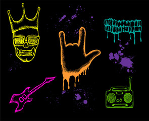 Various music icons 2