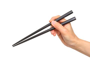 正しい箸の持ち方 Right way of holding chopsticks