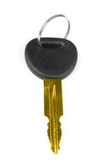 gold car key