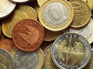 Spanische Euromünzen
