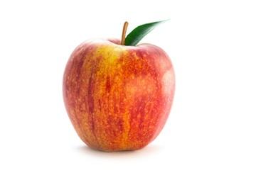 Frischer Apfel freigestellt