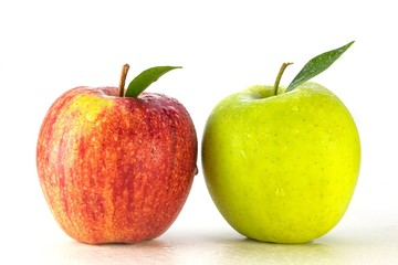 Äpfel - rot grün