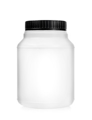 Plastic jar, container
