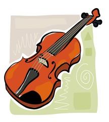 sketchy violin