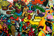 canvas print picture - graffiti art urbain