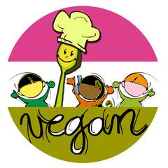 vegan chef for children