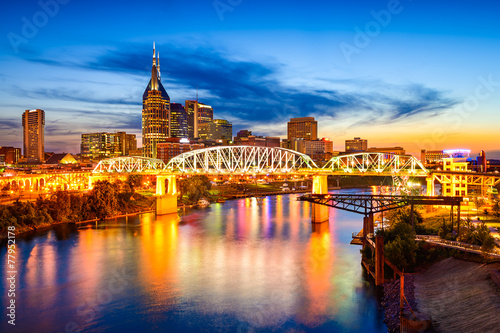 Nashville, Tennessee, USA Skyline