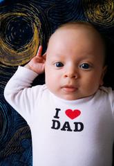 Hello dad i love you