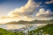 Leinwanddruck Bild - Philipsburg, Sint Maarten