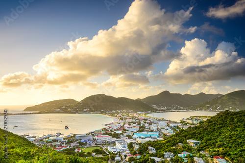 Leinwanddruck Bild Philipsburg, Sint Maarten