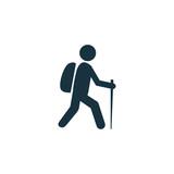 hiking icon - 77952950