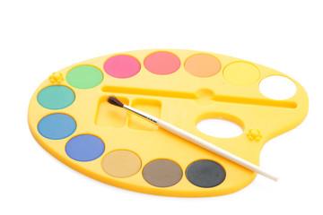 Palette pour peindre