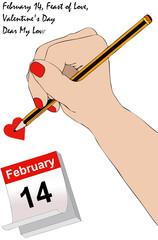 Una lettera per San Valentino