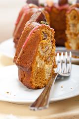 chestnut cake bread dessert