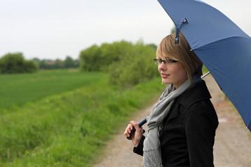Regenwetter im Sommer