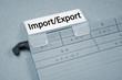 Ordner mit Import und Export