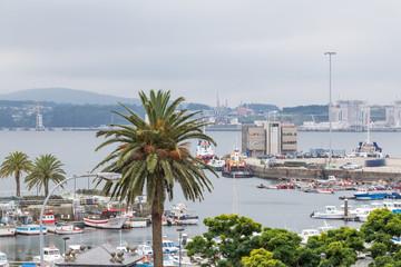 port of Ferrol, Galicia, Spain
