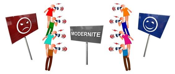 """Débat  """"Modernité pour ou contre"""""""