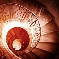 Spiral staircase..