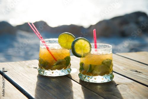 Fotobehang Cocktail Sundowner