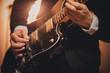men playing guitar no face - 77962793