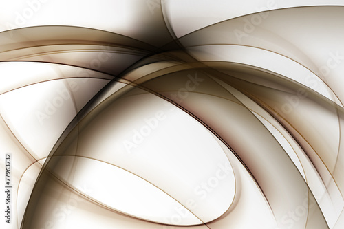 Elegant Brown Abstract - 77963732