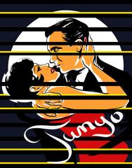 couple romance tango