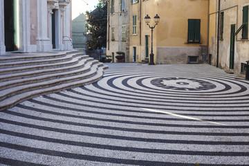 Piazza della Concordia in Albissola Marina, Liguria