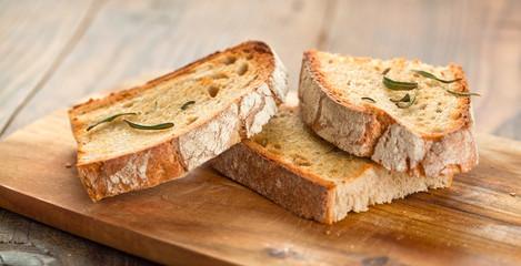Brot mit rosmarin