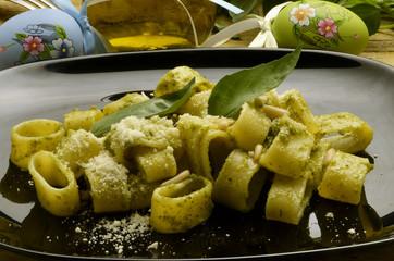 Pesto alla genovese ペスト・ジェノヴェーゼ Italian cuisine