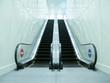 Escalator in underground passage