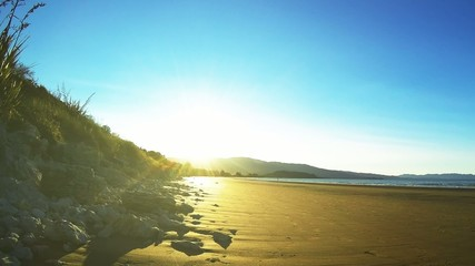 Sunset at Tasman Bay - New Zealand