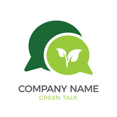 Logo Template - Green Logo