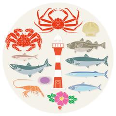 北国の水産物