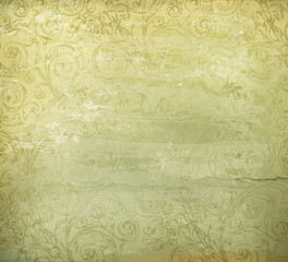Old style background, vector