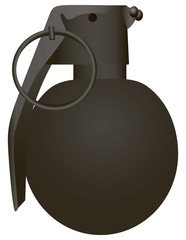 Spherical modern grenade