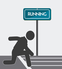 Sport design,vector illustration.